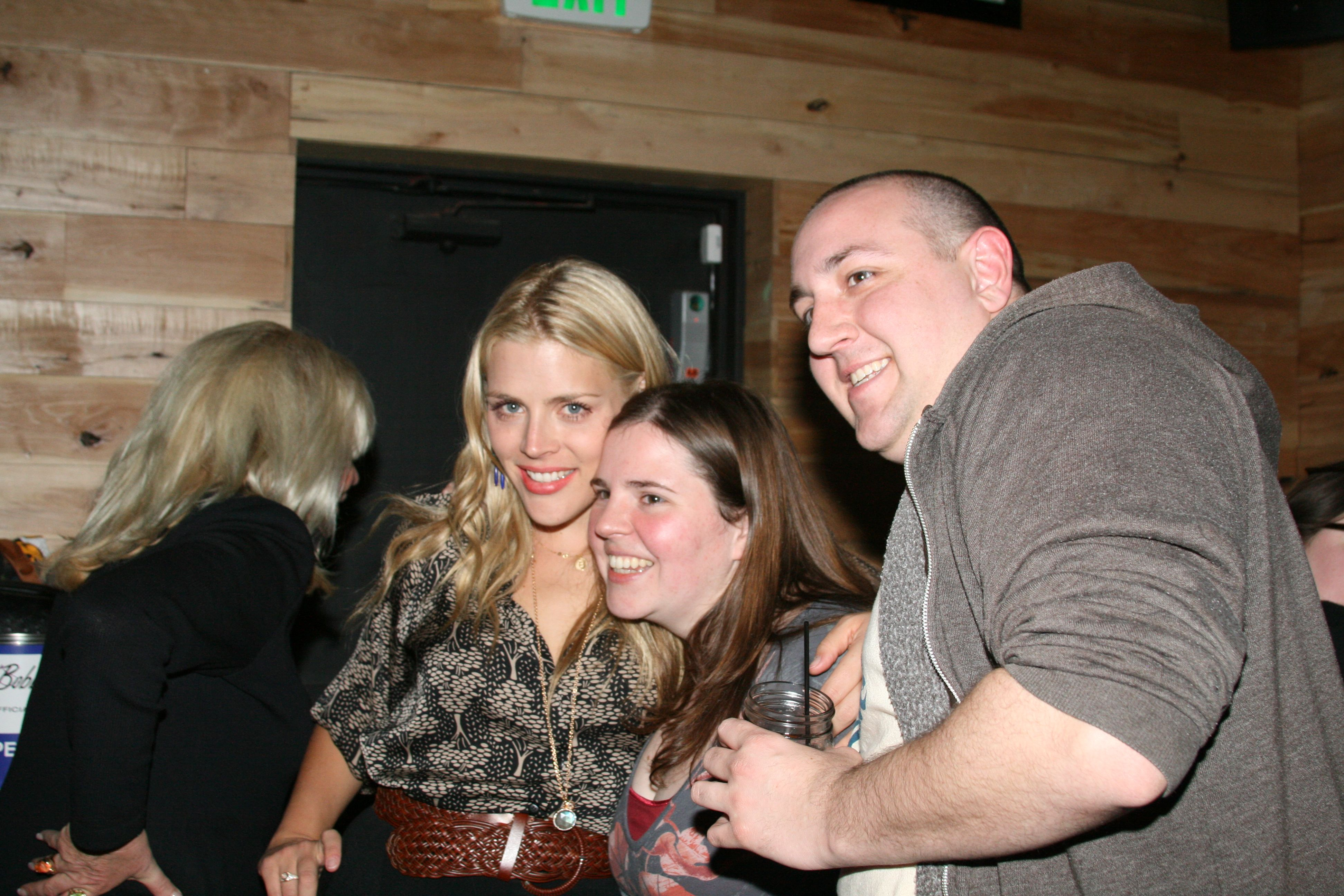 Busy Phillips Poses with Cougar Town Fans