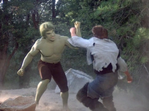Antowuk Horror Monster fights Hulk