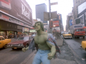 Hulk in Times Square