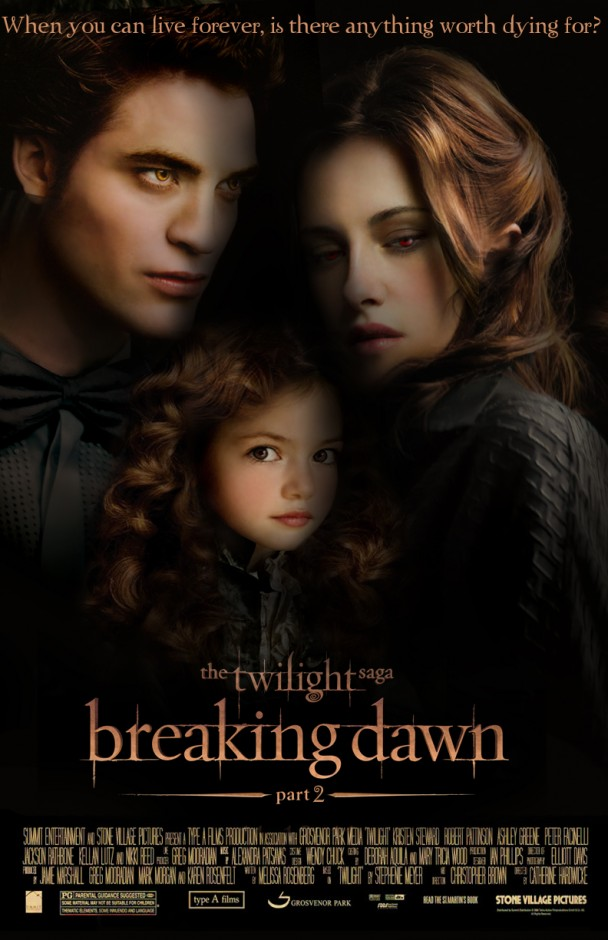 Movie Review: Twilight – Breaking Dawn Part 2