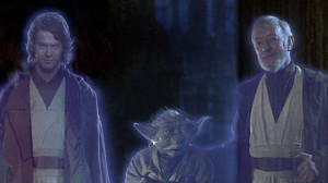 """""""Obi-Wan, invite the creepy guy to join us, did you?"""""""