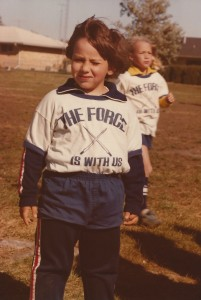 Arnie's childhood soccer team was The Force to be reckoned with.