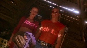 Something as simple as projecting a slide on actors felt fresh among the ever-shifting styles in Natural Born Killers.