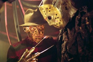 Freddy vs. Jason -- whoever loses, the fans win.