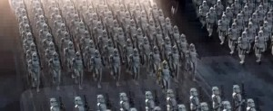 The sheer enormity of the clone army excited me.