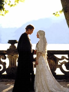 The wedding in Star Wars seemed perfectly timed for our Star Wars wedding.