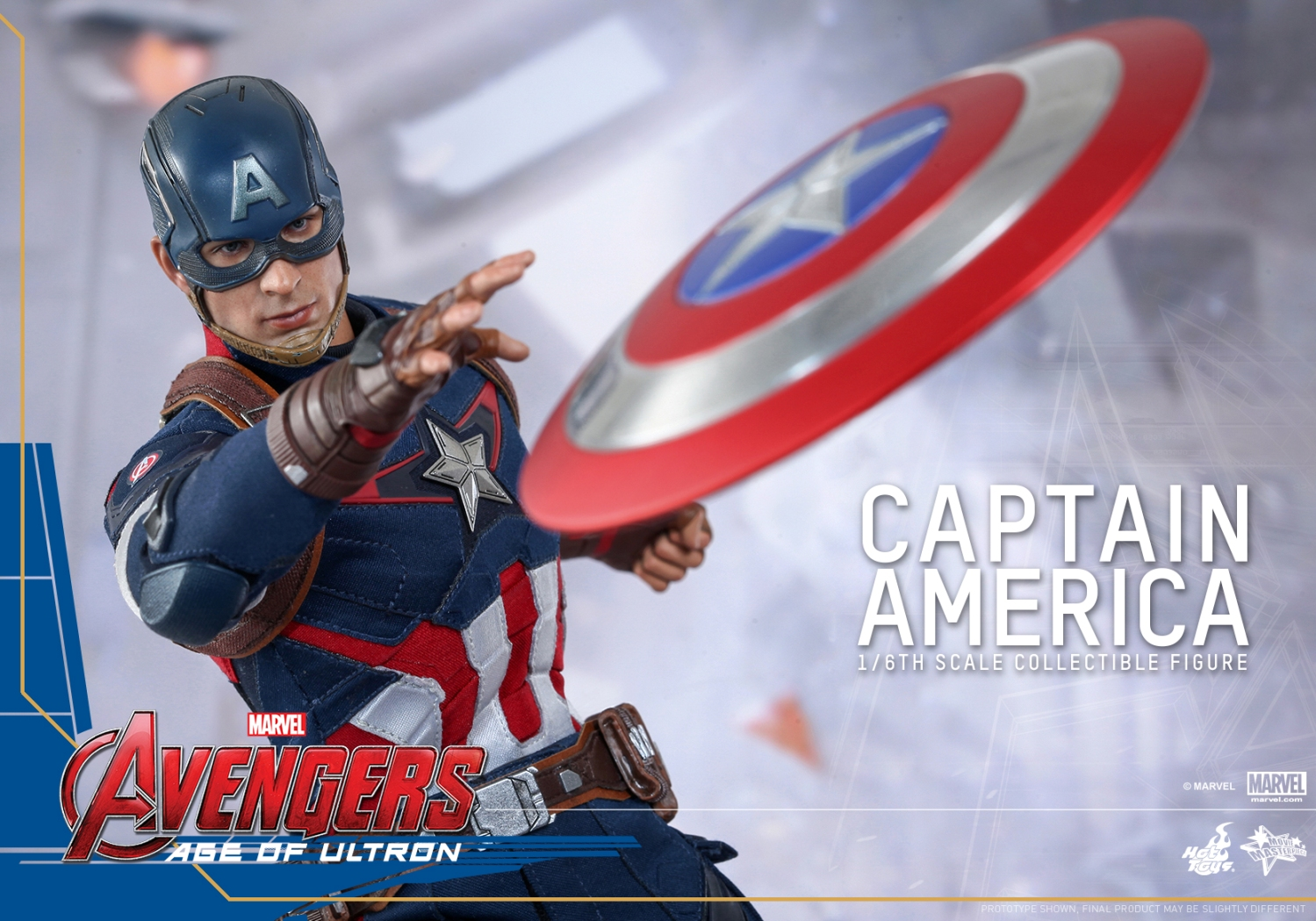 Hot Toys - Avengers - Age of Ultron - Captain America Collectible Figure_PR10
