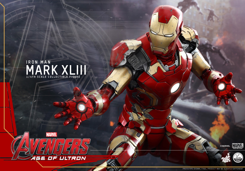 Hot Toys - Avengers - Age of Ultron - 1-4 Mark XLIII Collectible Figure_PR15