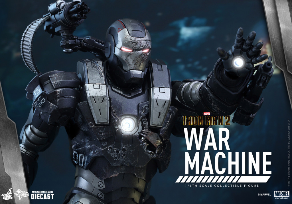 Hot Toys - Iron Man 2 - War Machine Diecast Collectible Figure_PR10