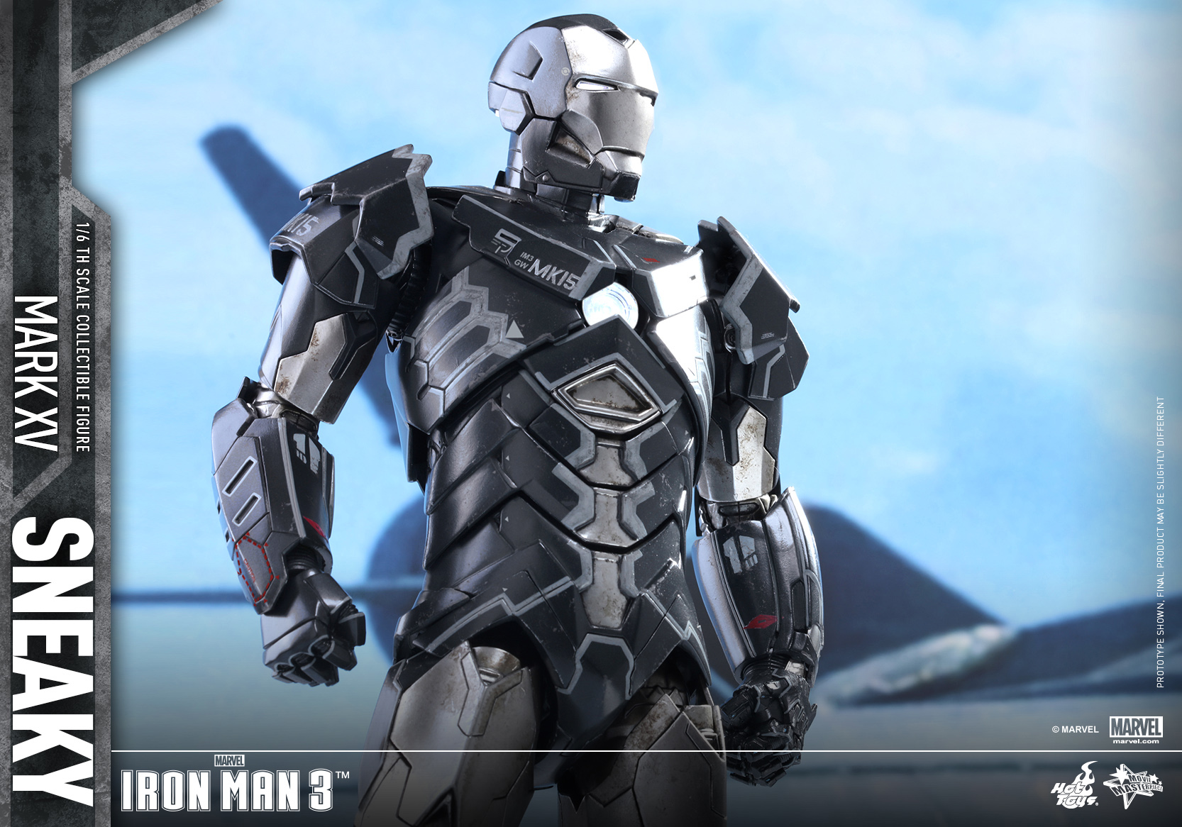 Hot Toys - Iron Man 3 - Sneaky (Mark XV) Collectible Figure_PR11