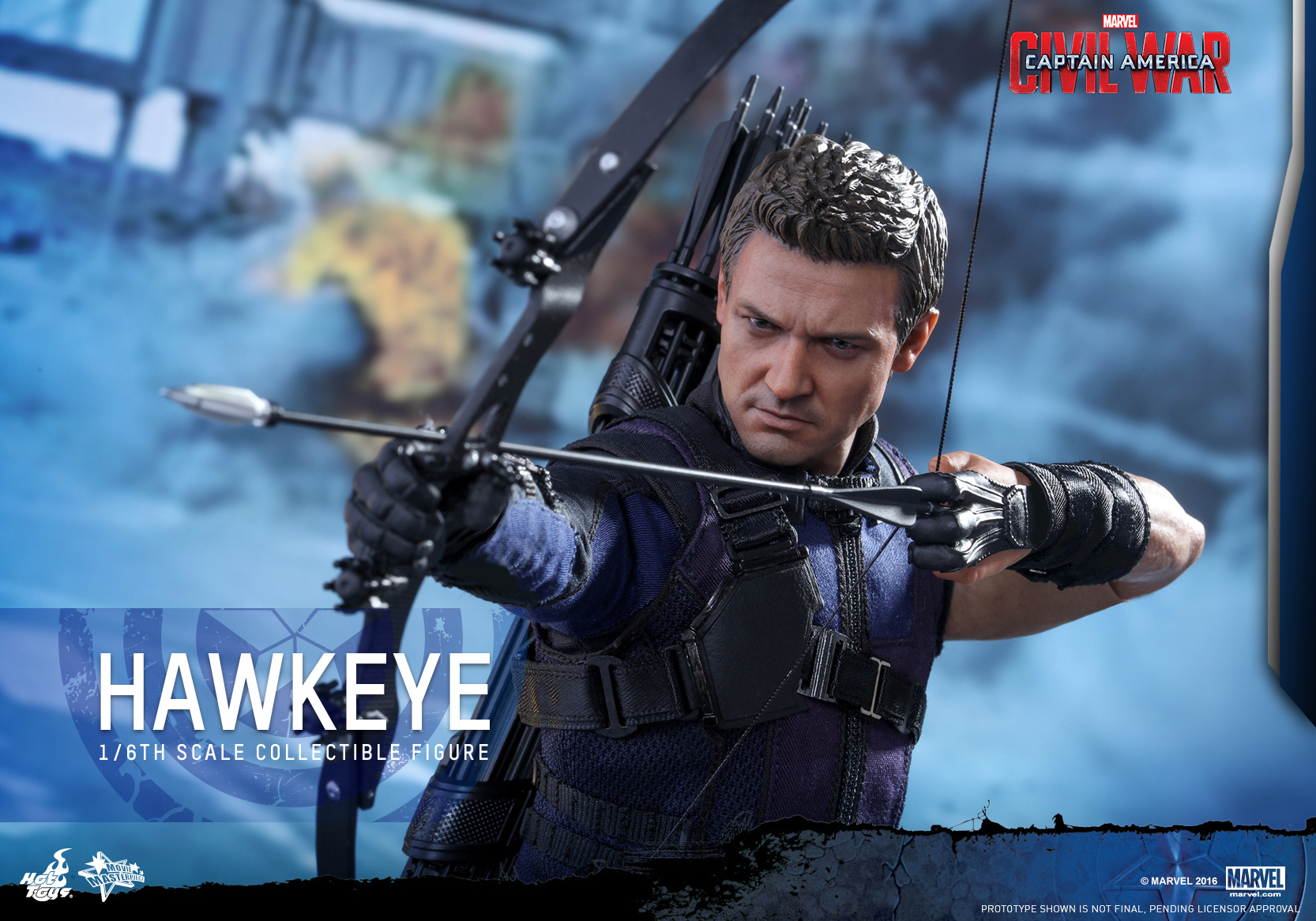Hot Toys - Captain America - Civil War - Hawkeye Collectible Figure_PR14