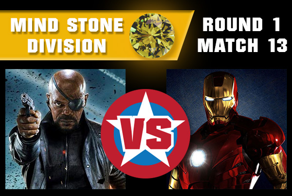 SpaceStoneR1M13 - Nick Fury vs Iron Man
