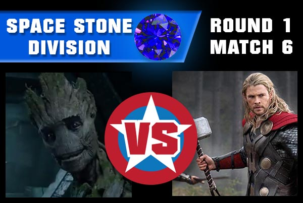 SpaceStoneR1M6 - Groot vs Thor