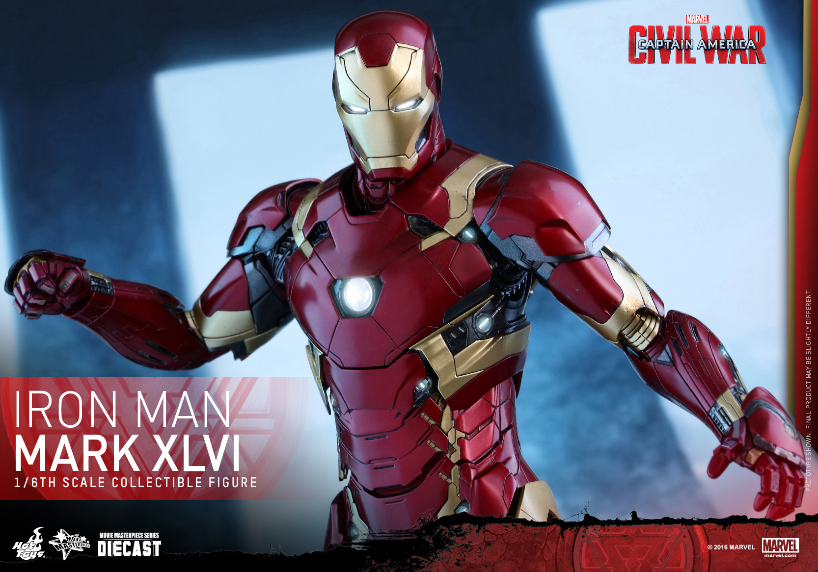 Hot Toys - CACW - Mark XLVI Collectible Figure_PR15