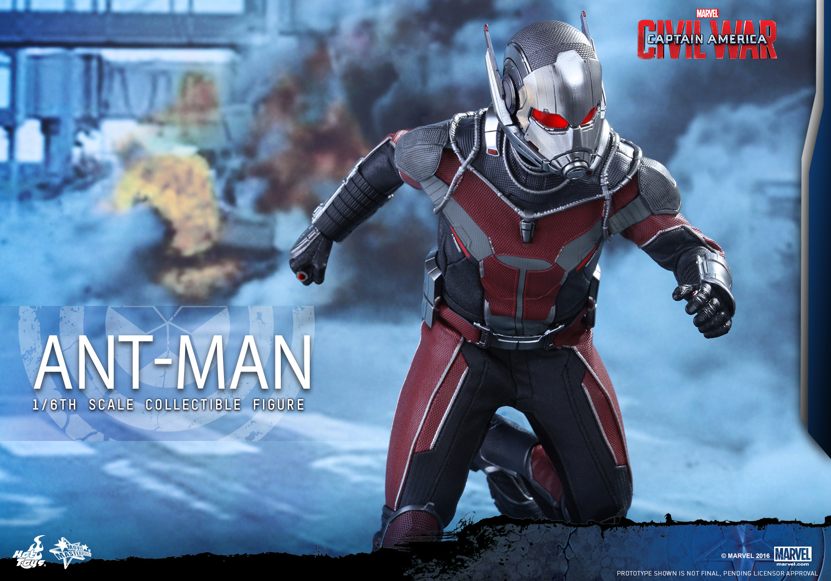 Hot Toys - Captain America Civil War - Ant-Man Collectible Figure PR_10