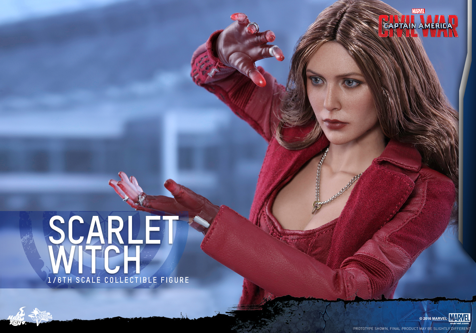 Hot Toys - Captain America Civil War - Scarlet Witch Collectible Figure PR_13