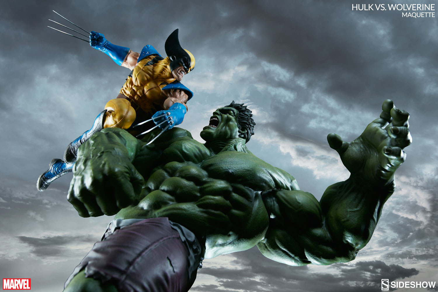 Pre Order Marvel Exclusives One12 Shadowland Daredevil And Sideshows Wolverine Hulk Maquette Plus X Men Legends