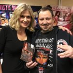 Kristy Swanson and Arnie Carvalho at Days of the Dead Chicago