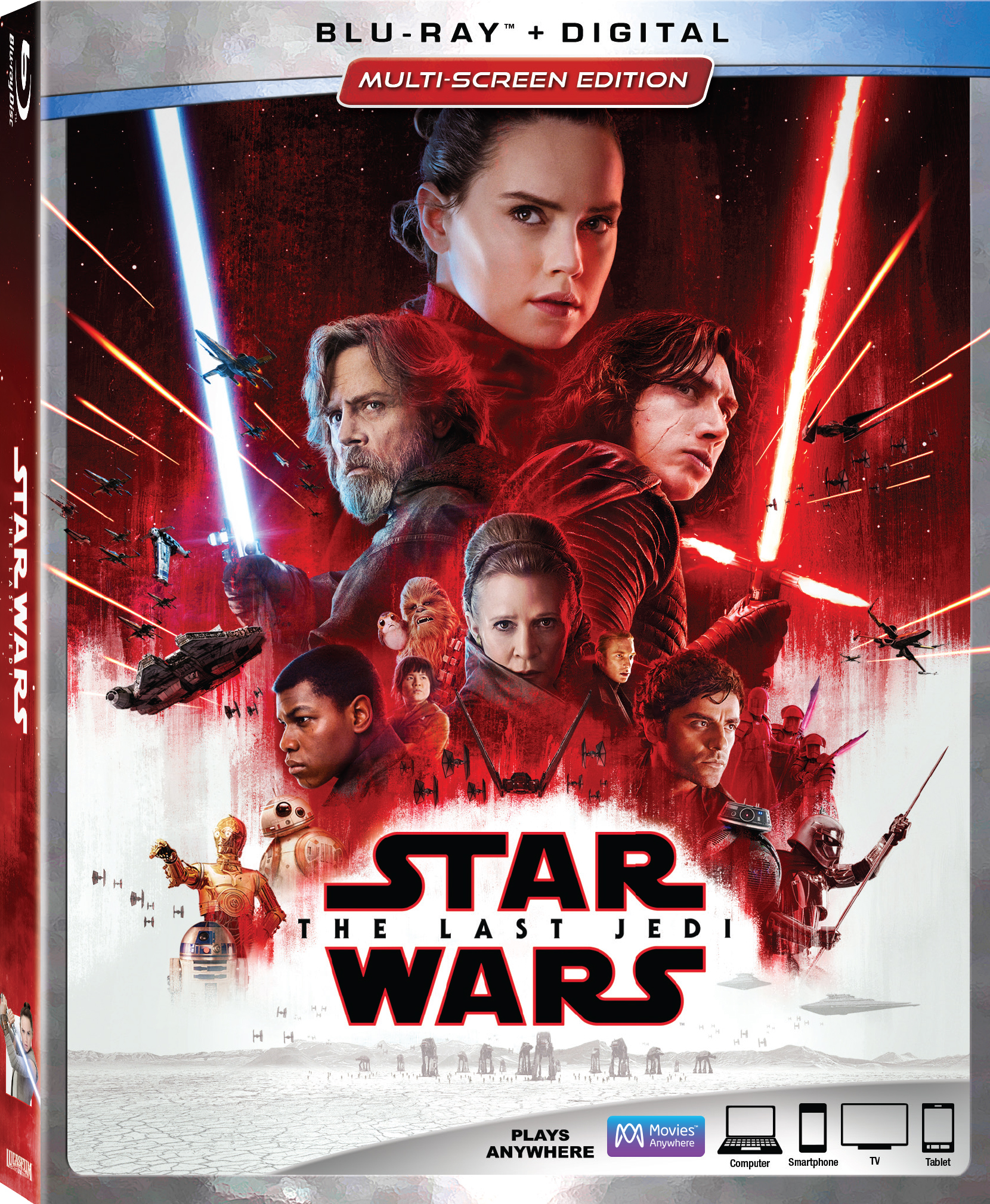 0eeeb8a36f95 The biggest movie of 2017 comes home this month! Star Wars Episode VIII  The  Last Jedi is available in HD and Ultra HD 4k digitally via Movies Anywhere  on ...